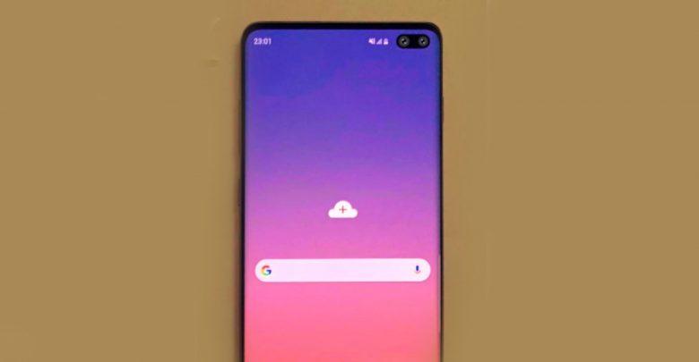 Samsung Galaxy S10 Görseli