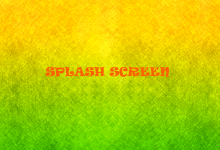 Splash Screen Yazı Görseli