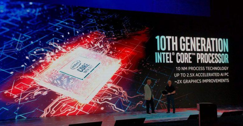 intel 10. nesil işlemci